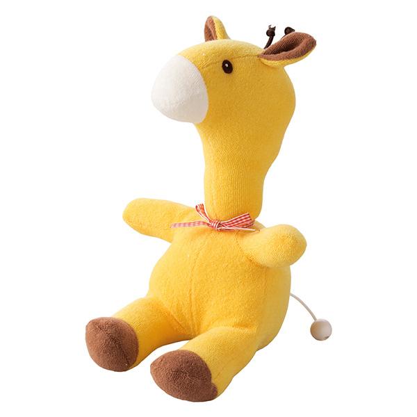 キリンくん ひも付きオルゴール / 知育玩具