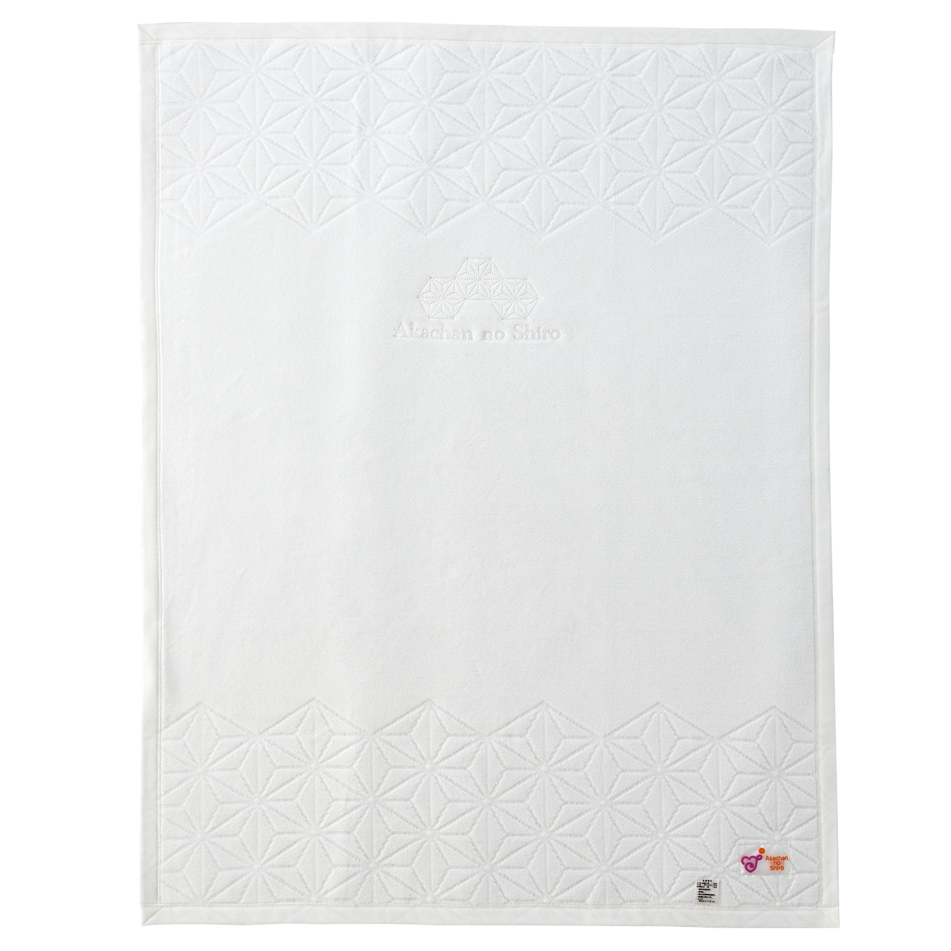 麻の葉 サテン / 綿毛布