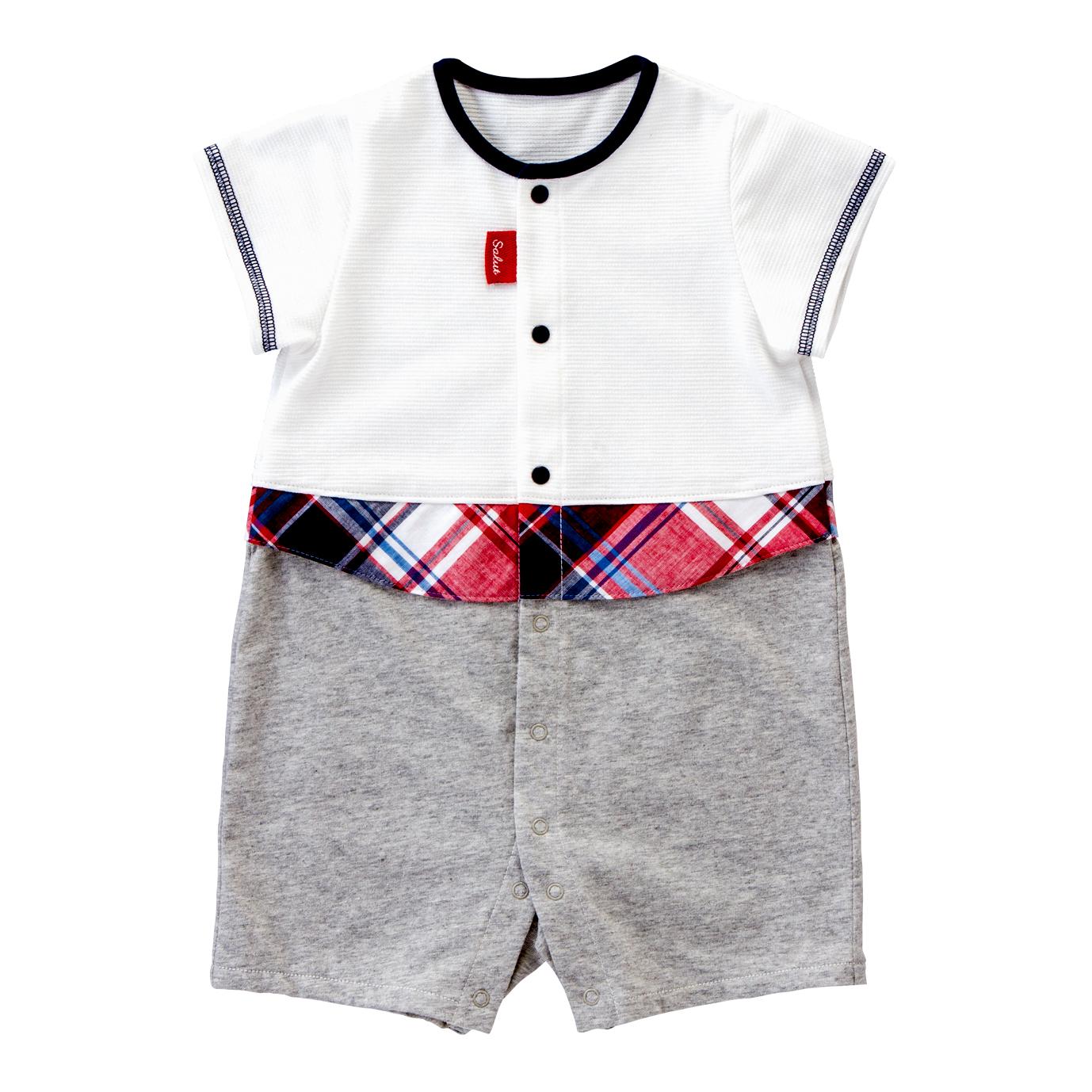 チェックシャツ / 半袖コンビ